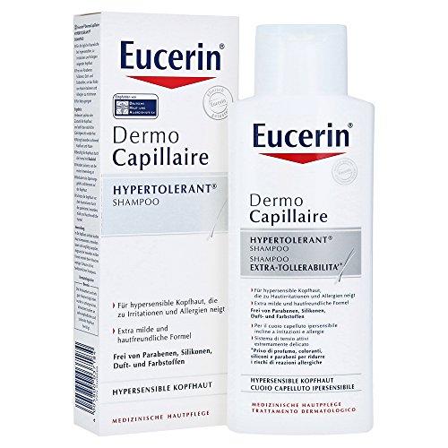 Eucerin DermoCapillaire Hypertolerant Shampoo, 250 ml Shampoo