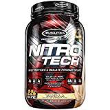 Muscletech Supplemento Nutrizionale Nitro Tech Performance Series 2 lb, Vainilla - 907 gr