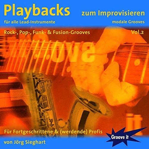 Playbacks zum Improvisieren Vol. 2 - für alle Lead-Instrumente geeignet Gitarre Keyboard