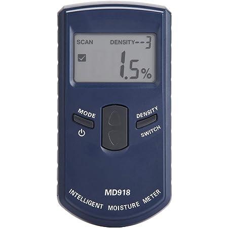 MD918 Medidor de Humedad Sensor de Humedad LCD Humedad de Madera 4/% ~ 80/% HR Medidor de Humedad de Madera