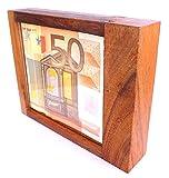 LOGICA GIOCHI Art. Caja Fuerte con Truco M - La Caja Secreta - Dificultad 5/6 Increíble - Rompecabezas de Madera - Colección Leonardo da Vinci