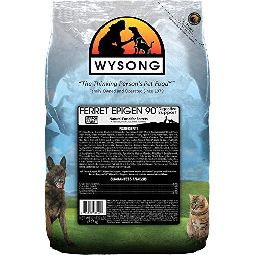Wysong Ferret Epigen 90 Digestive Support - Dry Ferret Food - 5 Pound