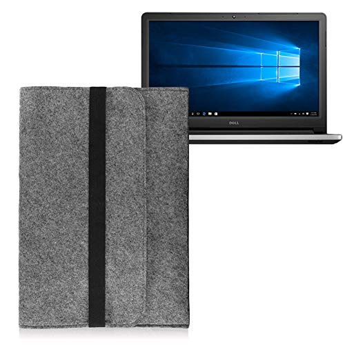 UC-Express Dell Inspiron 17 Tasche Sleeve Hülle Notebook Cover Case Laptop Filz Schutzhülle