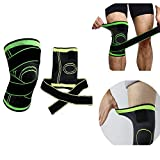 Warmiehomy Knee Support Knee Pads Knee Pads Faster Recovery, More Stability and Support for Running, Jogging, Hiking, Volleyball, Cycling, Football, Basketball (XL)