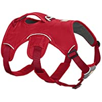 Durable dog harness for rugged environments, Full range of motion for hiking, trail running, climbing and search-and-rescue, Built for lifting and assisting dogs over obstacles, Perfect for Labrador retrievers, Rottweilers and similar sized breeds Si...