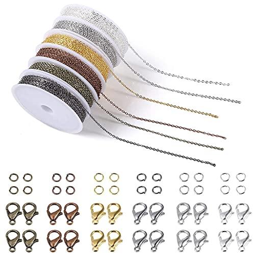 DUESI 2mm 6 colores surtidos collar cuerda DIY pulsera collar joyería fabricación material accesorios hechos a mano arte artesanía cadena