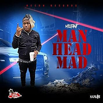 Man Head Mad