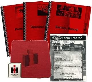 Farmall Super C Deluxe Tractor Manual Kit