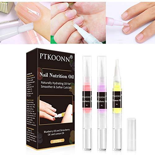 Nagelhärter, Nagelöl, Nagelpflege stift, Nagelaufbauserum Schutz & Stärkung Nagelhaut gegen brüchige, dünne, weiche Nägel - für elastische, starke Nägel