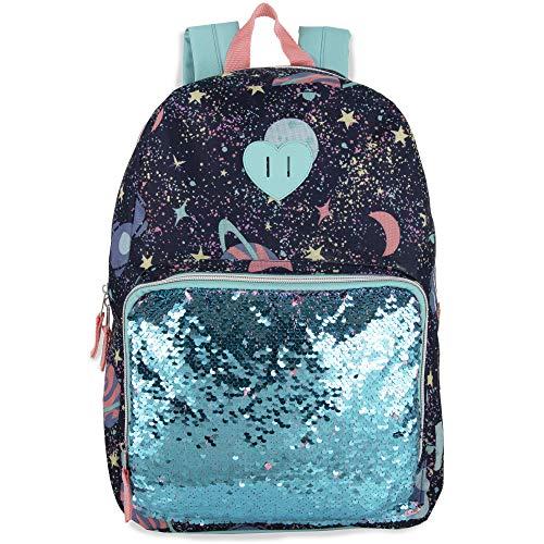 Madison & Dakota Pailletten-Rucksack mit Farbwechsel, für Mädchen und Frauen., Kosmos (Blau) - 80213