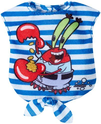Barbie SpongeBob Mr Crabs Blue and White Stripped Top Fashion product image