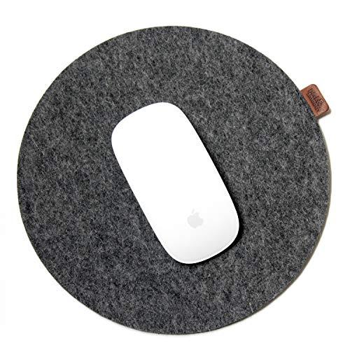Pack & Smooch Mousepad Mouse Pad aus 100% Wollfilz Anti-Rutsch Beschichtung