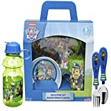 Nickelodeon PWPL-4270 Nick Jr. Dinnerware Sets, 6-Piece, Paw Patrol