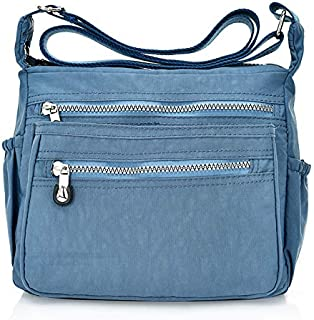 Tricherry Women Tote Messenger Cross Body Bag Handbag Ladies Shoulder Bag Purse Waterproop