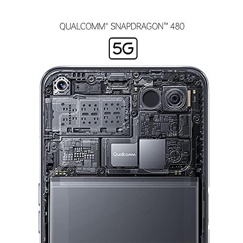 OPPO A54 5G Smartphone, 48 MP KI-Vierfachkamera mit Ultra Nacht Video, 6,5 Zoll 90 Hz FHD+ Neo-Display, 5.000 mAh Akku, 5G-Prozessor, 64 GB Speicher, 4 GB RAM, ColorOS 11.1, Dual-SIM, Fantastic Purple - 4