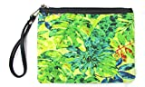 Red Pomegranate Fashion Womens Jungle Wristlet Clutch