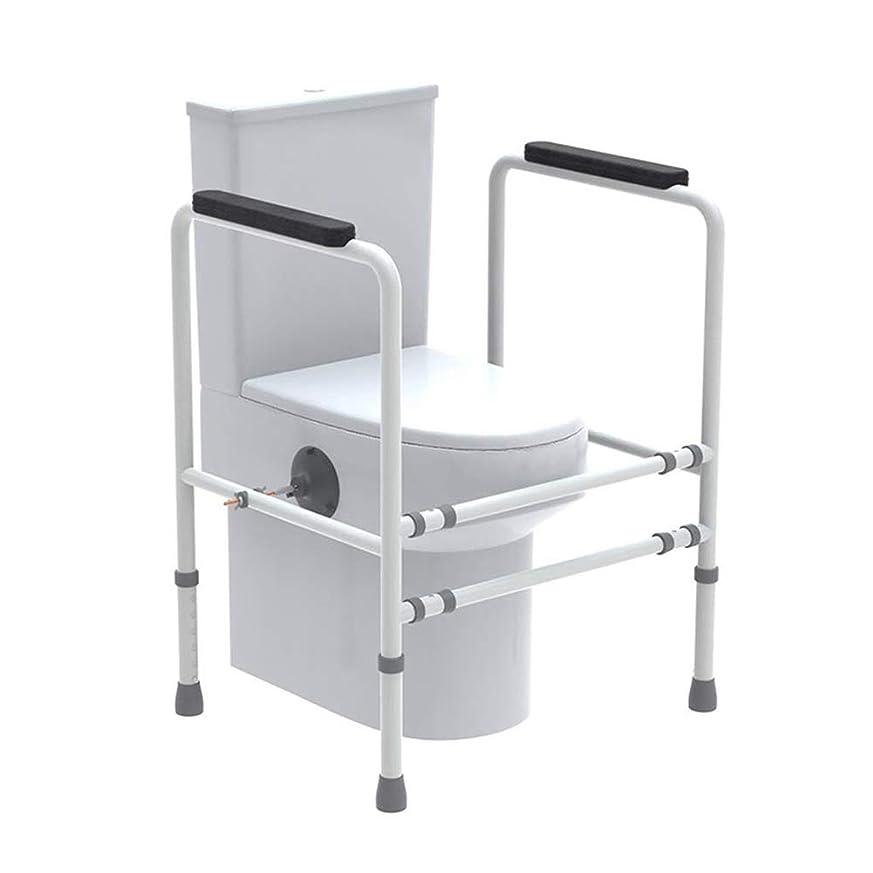 広げるルーリストトイレ安全フレーム、高齢者トイレ用レール安全フレーム、バスルーム安全トイレサポート