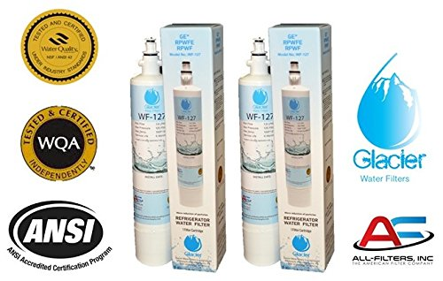 Replacement Water Filter Cartridge for GE Refrigerator Models PYE22PSHSS / GFE28HMHES (2 Pack)