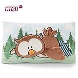 NICI 46098 Kuscheltierkissen The Owlson, Kuschelkissen Eule für Jungen, Mädchen & Babys,...