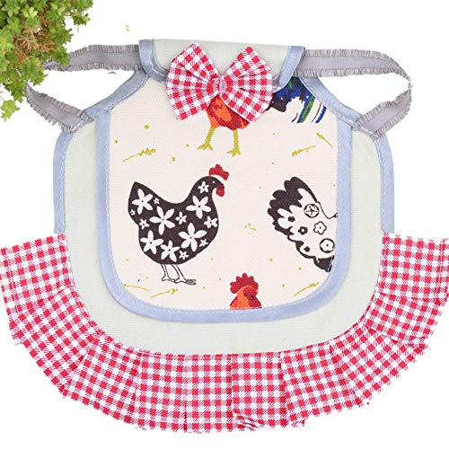 Standard Chicken Saddle Hen Apron Feather Fixer Wing Back Protector(2Pieces)