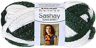 RED HEART Boutique Sashay Team Spirit Yarn, Green/White