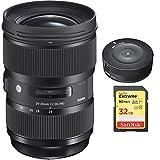 Sigma 24-35mm F2 DG HSM Standard-Zoom Lens for Canon EF Cameras (588954)...