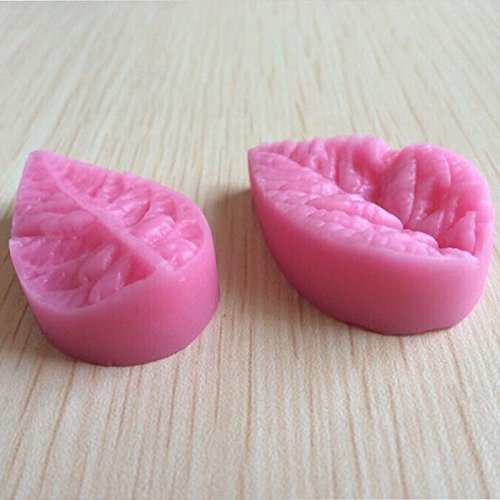 GRK 3D Leaf Veiner Shape Silicone Mold Cake Mould Fondant Bakeware Decorating Baking Pastry Tools