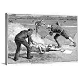 T. De Thulstrup Solid-Faced Canvas Print Wall Art Print Entitled Giants vs. White
