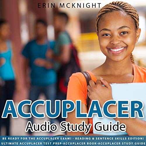 Accuplacer Audio Study Guide audiobook cover art