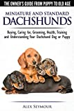 dachshund guide book with everything about raising this breed