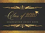 GRADUATION GUEST BOOK: ELEGANT GUEST BOOK TO SIGN IN   KEEPSAKE MEMORY BOOK   KEEP TRACK OF THEIR SHORT MESSAGES, AUTOGRAPHS, WISHES AND GREETINGS   GRADUATION PARTY SUPPLIES   GIFT LOG INCLUDED.