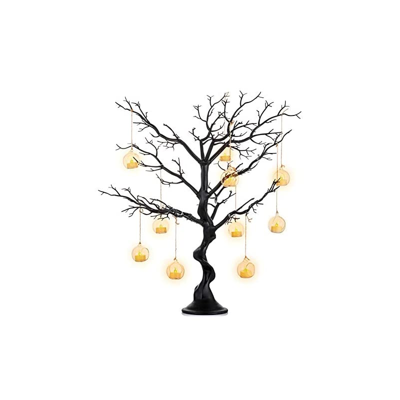 silk flower arrangements sziqiqi black artificial tree for tree centerpiece for weddings christmas birthday party home indoor outdoor decoration 30 inches