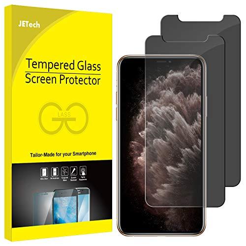 """JETech Privacy Pellicola Protettiva Compatible iPhone 11 PRO/XS/X 5,8"""", Anti Spy in Vetro Temperato, Pacco da 2"""