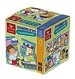 Desde Negro Baby quadrotto Case en el Mundo. pequeño Puzzle A Grandes Tarjetas, Multicolor, 53940