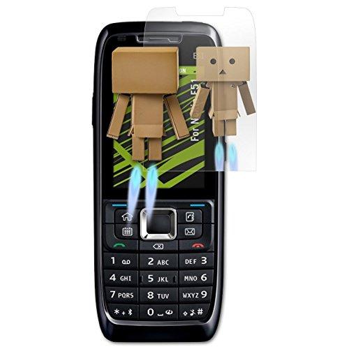 atFoliX spiegelfolie voor Nokia E51 - FX-Mirror: spiegel beschermfolie volledig gespiegeld! Hoogste kwaliteit - Made in Germany!