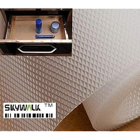 Skywalk™ Multipurpose Textured Super Strong Anti Slip EVA Mat- Full 5mtr Length-45x500 cm