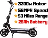 OUTSTORM MAXX Folding Electric Scooter for Adults, 56MPH Top...