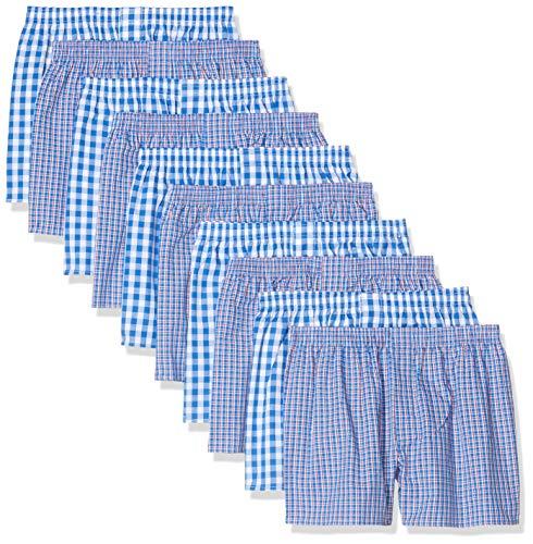 CityLife Classic, 10er Pack Boxershorts, Mehrfarbig (Business Multicolour 4 BW-10-4), X-Large (Herstellergröße: XL)