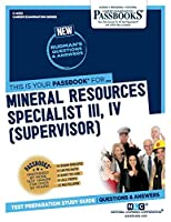 Mineral Resources Specialist III, IV: Supervisor (Career Examination)