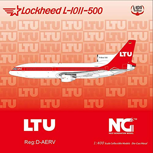 NG Model NGM35010 1:400 LTU Lockheed L-1011-500 Reg #D-AERV (pre-Painted/pre-Built)