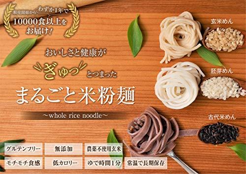 古代米めん9食 無農薬モチモチ玄米パスタ&うどん グルテンフリースパゲティ 無添加なのに常温長期保管
