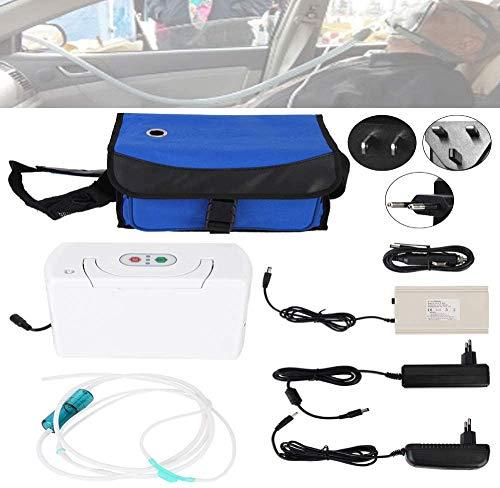 Oxígeno, La Máquina Portátil De Oxígeno Pequeño con 3 L/Min para El Uso De Viaje Y El Hogar - Productos, Montón De Basura