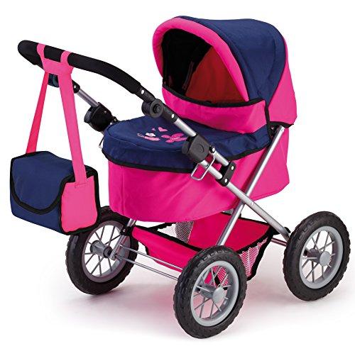 Bayer Design 13013 - poppenwagen Trendy, roze/blauw