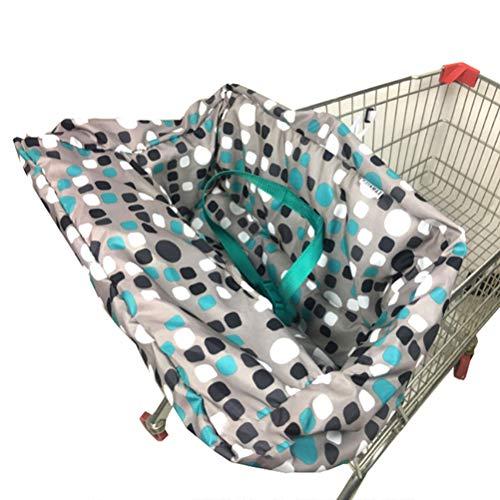 Auplew Einkaufswagen Schutz für Babys Abdeckung Universal Kleinkind Hochstuhl und Warenkorb Kissen Einkaufswagenschutz