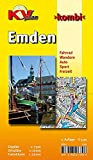 Emden: 1:15.000, mit Freizeitkartenseite 1:25.000, Cityplan 1:7.500 (KVplan Ostfriesland-Region)