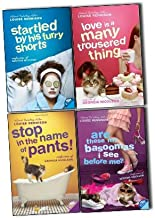 Louise Rennison Confessions of Georgia Nicolson 4 Books Collection Pack Set RRP: £43.96 (Stop in the Name of Pants!, Are ...