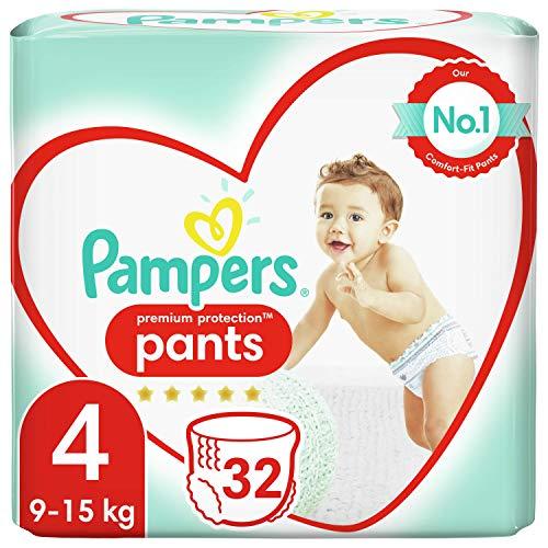Pampers Active Fit Pants Windeln, Größe 4 (8-14 kg), 32 Stück