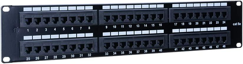 48 port cat5e patch panel