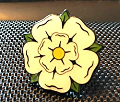 YORKSHIRE ROSE ENAMEL PIN BADGE (PB7) BIGGER THAN OTHERS A GREAT GIFT #1