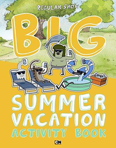 Big Summer Vacation Activity Book (Regular Show)